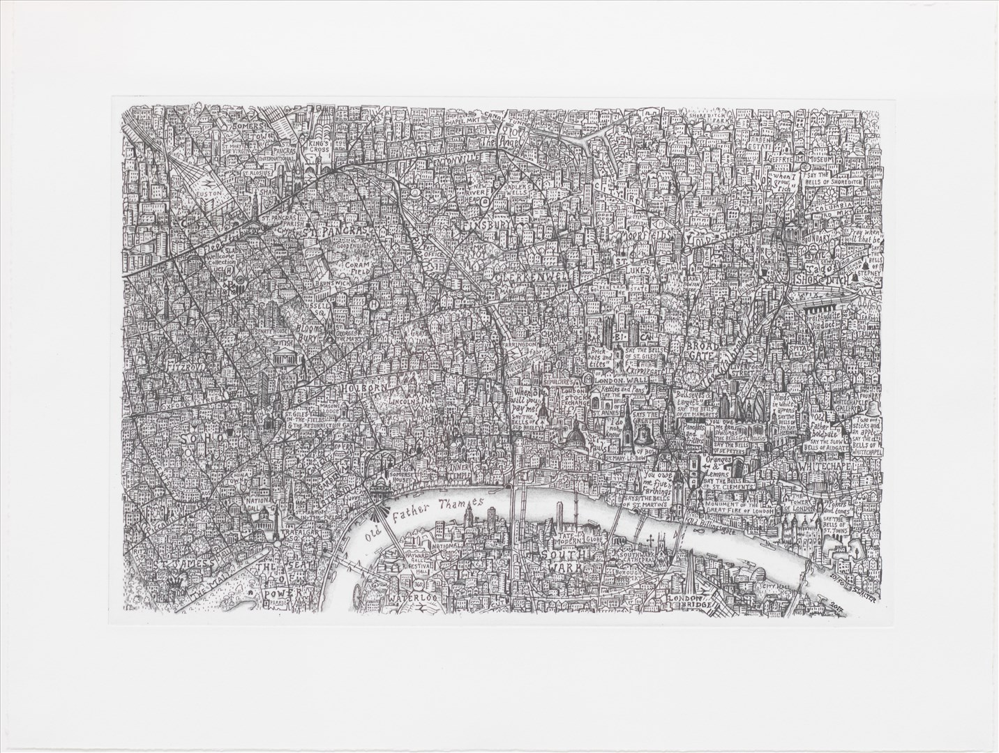 Stephen Walter | OLD FATHER THAMES | Summer Exhibition