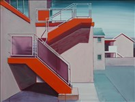 Paul Crook, 241 - ORANGE STAIRWAY
