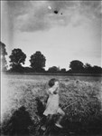 Caroline Silverwood Taylor, 509 - RUNNING GIRL (PRINTED FROM UNATTRIBUTED NEGATIVE IN ARTIST'S FAMILY ARCHIVE)