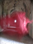 Liz Rideal, 719 - TEMPLE OF JOVE ANXUR, TERRACINA (RED)