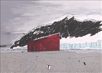 Frances Walker, 795 - ANTARCTIC REFUGE HUT
