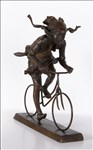 James Butler RA, 780 - GIRL ON A BICYCLE