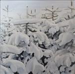 Jackie Hughes, 197 - SNOW TREES
