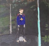 Danny Markey, 946 - BOY ON A TRAMPOLINE
