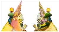 Anthony Green RA, 181 - GREEN PARK XII: LAVENDER KISS (DIPTYCH)