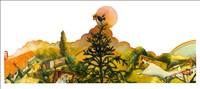 Anthony Green RA, 179 - GREEN PARK IV: SAHARA SUN