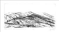 Ian Ritchie RA, 732 - TAVAS-SARABAT SNOW DUSTED MOUNTAINS 1