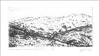 Ian Ritchie RA, 733 - TAVAS-SARABAT SNOW DUSTED MOUNTAINS 2