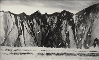 Norman Ackroyd RA, 441 - CROAGHAUN CLIFFS, ACHILL HEAD - CO. MAYO