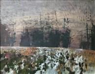 Frederick Cuming RA, 164 - FEBRUARY LANDSCAPE, PEASMARSH
