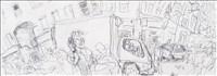 Timothy Hyman RA, 151 - IN CHINA TOWN (WARDOUR STREET)