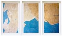 Rita Barros, 776 - BLUE WALL, CHELSEA HOTEL (TRIPTYCH)