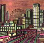 Gail Brodholt, 686 - A CITY SUNSET