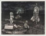 Freya Payne, 692 - THE POTATO FIELD SERIES, BAG-MAN