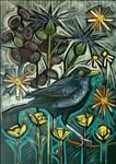 Kim Coley, 1091 - MALE BLACKBIRD