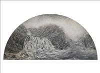 Ambrosine Allen, 651 - MOUNTAIN WATERFALL AFTER THE RAIN