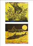 Stephen Chambers RA, 700 - I BITE & STING: SEA URCHIN AND SHARK