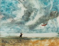 Bill Jacklin RA, 659 - DANCE OF THE CLOUDS AND BREEZES IV