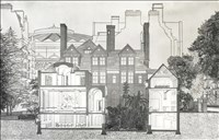 Adam Caruso and Peter St John RA, 163 - RENOVATION OF THE HEADQUARTERS OF THE ROYAL GEOGRAPHICAL SOCIETY, KENSINGTON GORE