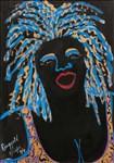 Faith Ringgold, 73 - JAZZ STORIES: MAMA CAN SING #4